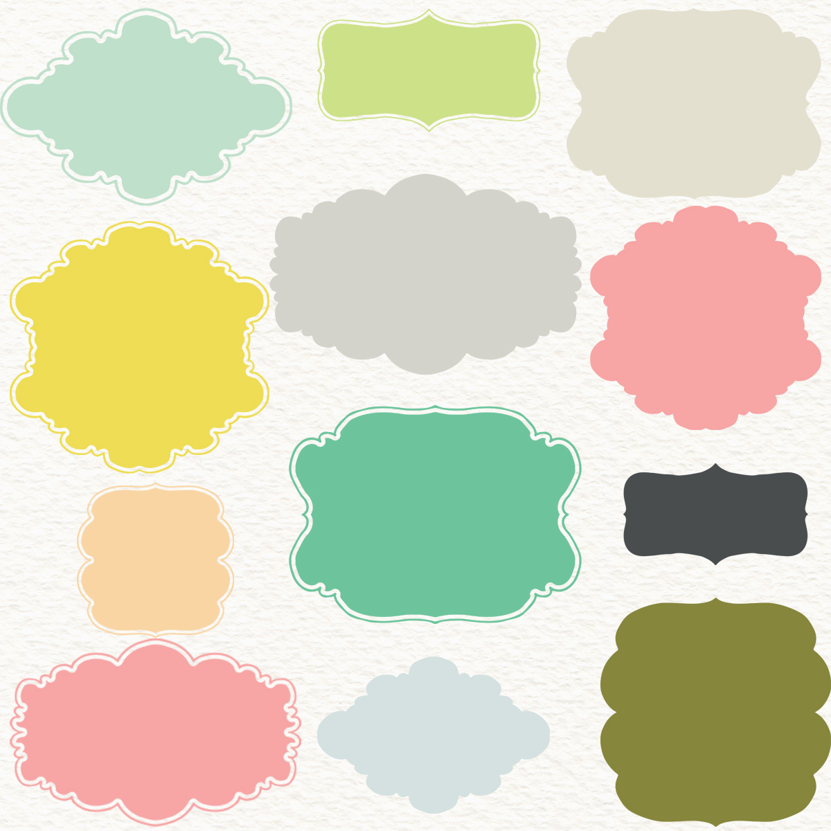 decorative shapes png
